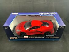 Maisto 1/18 Special Edition 2020 Chevrolet Corvette Stingray Coupe Red *New*