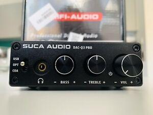 Hi-Fi USB DAC Headphone Amplifier with RCA Phono output - USB/Digital SPDIF/COAX