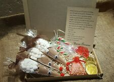 Caja de Santa Nochebuena chocolate caliente Cono x4 carta Magic Key