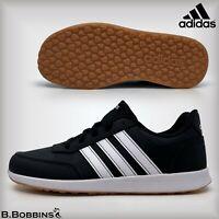 👟 Adidas VS Switch 2 K Black Junior Trainers Size UK 3 4 5 Boys Girls Ladies