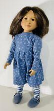 1997 Brown Eyes Brunette Asian Pacific Islander My Twinn TLC Snowflake Outfit