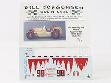 1952 Indy 500 Winner Agajanian Spl #98 Bill Jorgensen 1:25 Scale Resin Model