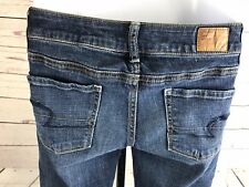 *AMERICAN EAGLE* AEO OUTFITTERS WOMENS JUNIORS SUPER STRETCH JEANS SIZE 0 - A14