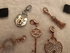 Origami Owl Dangle Lot - Rose Gold - New
