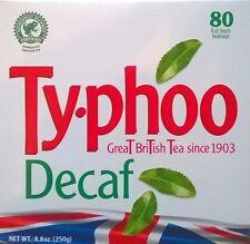 Typhoo Decaff Tea bags - 2 x 80's
