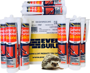 Everbuild General Purpose Silicone 310ml BOX OF 12/25