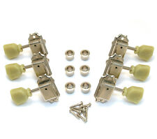 NEW Gotoh Vintage Locking 3x3 NICKEL TUNERS for Gibson Les Paul SG TK-0735-001