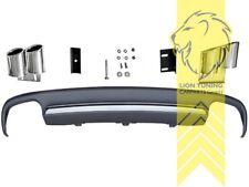 Heckansatz Heckspoiler Diffusor für Audi A4 B8 8K Limousine Avant