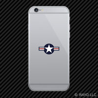 United States Air Force USAF Roundel Cell Phone Sticker Mobile #2