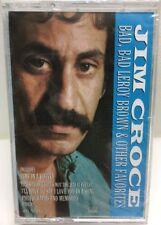 Jim Croce Bad Bad Leroy Brown Cassette Tape Sealed New 4XL 57445