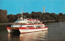 "Washington, D.C.  WILSON BOAT LINE CHARTER TOURS  Catamaran ""America""   Postcard"