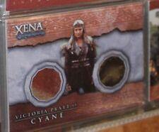 XENA Warrior Princess Beauty Brawn DC2 DUAL Costume Card Cyane Victoria Pratt