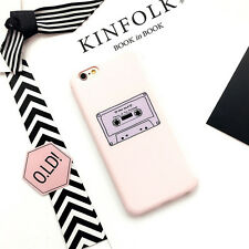 Cute Pink Cartoon Simple Pattern Soft Silicone Case For iPhone X 6 6S 7 8 Plus