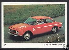 Americana Munich 1970 Card - Motor Cars - No 27 - Alfa Romeo 1300 GT