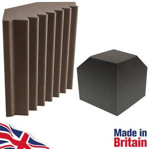 Bass Traps 300mm High Performance Grey Studio Acoustic Foam & Corner Cubes