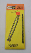 """Vintage NOS - Atlas N Scale 6-SECTIONS 5"""" STRAIGHT Track - #2501"""