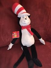 "Dr Seuss Cat in the Hat Kohl's Cares Plush Soft Stuffed Doll Toy 20"" NWT"
