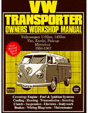 1954-1967 Vw Transporter Repair Shop Manual Bus Van Type 2 Volkswagen Volkswagon