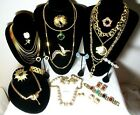 Vintage High End Jewelry Lot Trifari Givenchy Necklace Weiss Nolan Miller BB