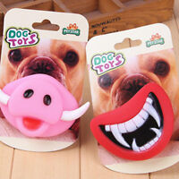 Halloween Christmas Funny Pet Dog Teeth Toy Puppy Chew Sound Dogs Toys