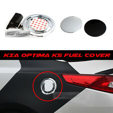 Fuel Oil Gas Tank Chrome Cover Garnish Trim Assembly For KIA 2011 - 15 Optima K5