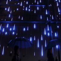 30cm 144 LED Meteor Shower Lights Rain 8 Tubes Fairy String Snowfall Christmas