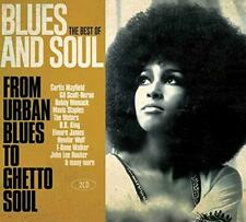 The Best Of Blues And Soul - From Urban Blues To Ghetto Soul - Various (NEW 2CD)