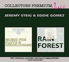 JEREMY & GOMEZ,EDDIE STEIG - MUSIC FOR FLUTE & DOUBLE BASS & -DELUXE 2 CD NEU