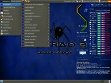 Linux BUGTRAQ 2 BLACK WIDOW Ubuntu Version on a quick 16GB USB Drive+ BONUS DISC