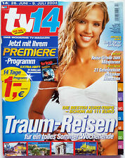 tv14 2004 / 14 Jessica Alba George Clooney Solaris tv top TV Programm 26.6.-9.7.