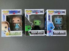 Funko POP Wizard Of Oz Dorothy 07 Witch 08 Winged Monkey 09