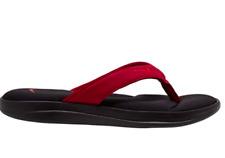 Brand New-NWT NIKE ULTRA COMFORT 3 THONG Flip Flop Sandal AR4498 006 Black/Red