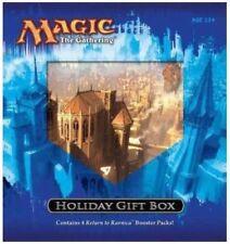 HOLIDAY GIFT BOX Magic Gathering Alt Art card 4 Return to Ravnica Booster Packs+