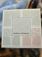 HERO ARTS POETIC PRINTS Rubber Stamps LL607 NATURE'S SILHOUETTES Seasonal Trees