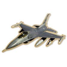 "F-16 Fighting Falcon Airplane Pilot car sticker 5"" x 3"""