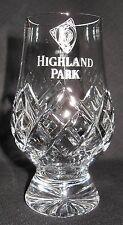 HIGHLAND PARK GLENCAIRN CUT CRYSTAL SCOTCH MALT WHISKY TASTING GLASS