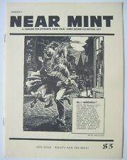 NEAR MINT FANZINE #9 COMIC BOOKS OLD MOVIES THIS ISSUE BEAUTY AND THE BEAST