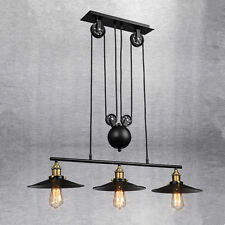 Retro Chandelier Vintage Industrial Lighting UP & DOWN Pendant Ceiling LED Lamp