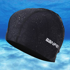 New Fashion Sports Nylon High Elastic Waterproof Cloth Quick-drying Swimming Cap