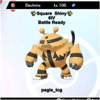 ✨ Shiny Electivire ✨ Pokemon Sword and Shield Perfect 6IV Battle ready