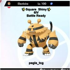 ✨ Shiny Electivire ✨ Pokemon Sword and Shield Perfect IV Battle ready