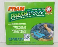 NEW! Fram FreshBreeze CF10729 Cabin Air Filter w/Arm & Hammer Baking Soda {4131}