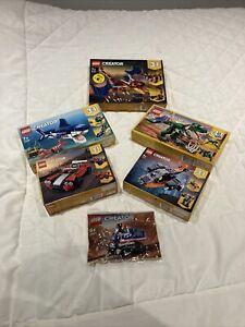 lego creator 3 in 1  New 5 Boxed And 1 Bag