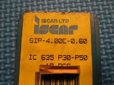 NIB Iscar GIP 4.00E 0.60 IC635 Buy It Now = 5 Inserts