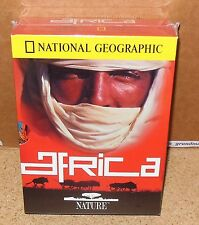 National Geographic - Nature Africa (DVD, 2001, 4-Disc BOX SET) SEALED