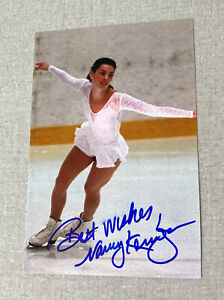 USA Olympic Legend NANCY KERRIGAN Autographed 4 x 6 Glossy Photo  Figure Skating