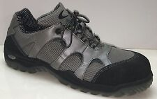 COFRA Men US 12 1/2 W Toe Caps Safety Work Shoes Foxtrot APT Plate Gray