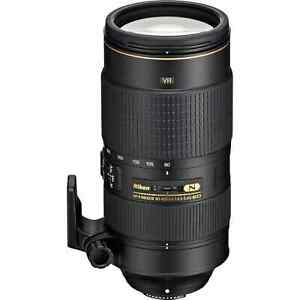 Nikon AF-S 80-400mm f/4.5-5.6G VR ED