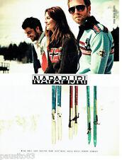 PUBLICITE ADVERTISING 016  2008  Napapijri  polaires anorks vetements ski