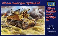 1/72 105-mm M7 gun motor carriage 'Priest' UM Models - Nr. 213
